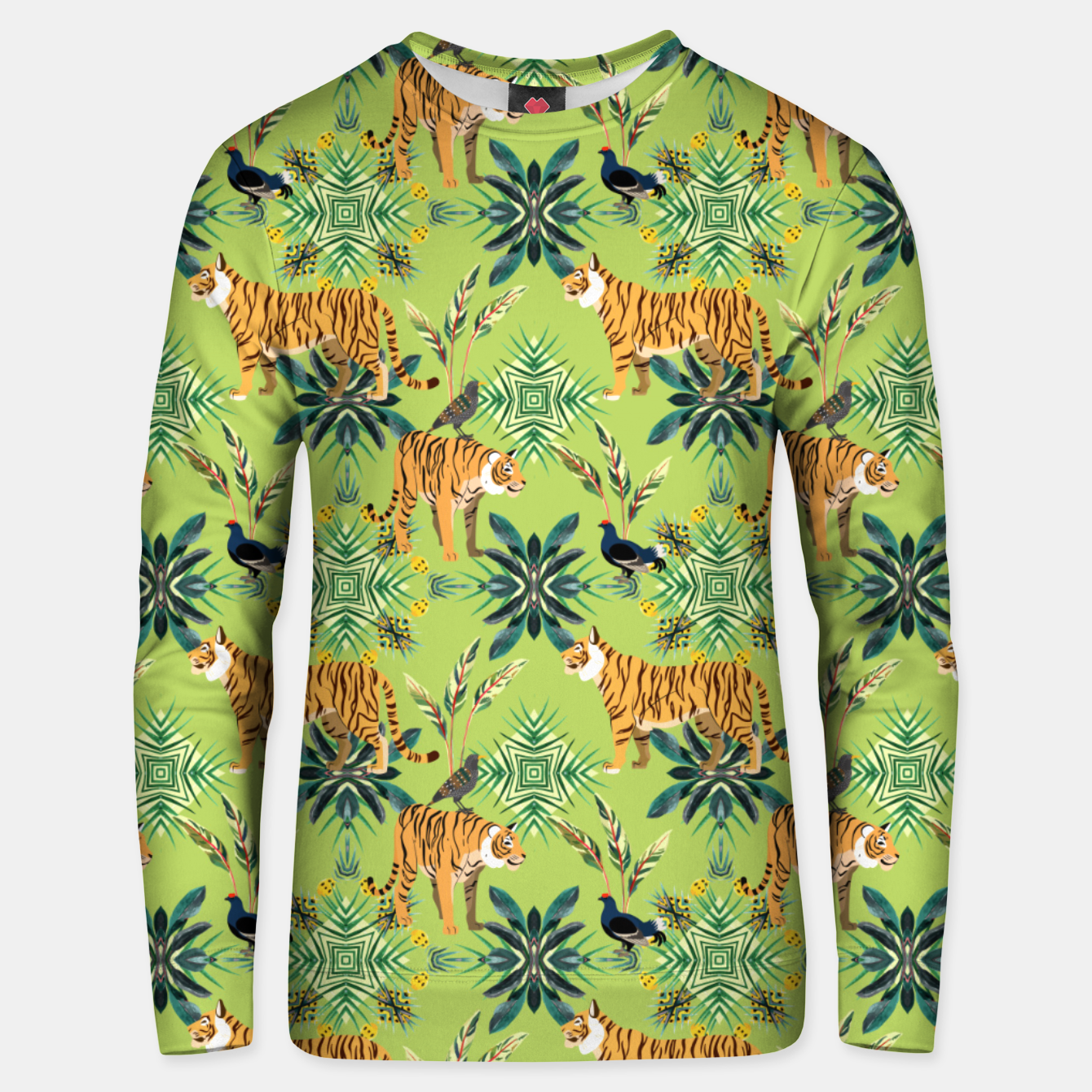 Image of Jungle Love Unisex sweater - Live Heroes