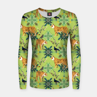 Thumbnail image of Jungle Love Women sweater, Live Heroes