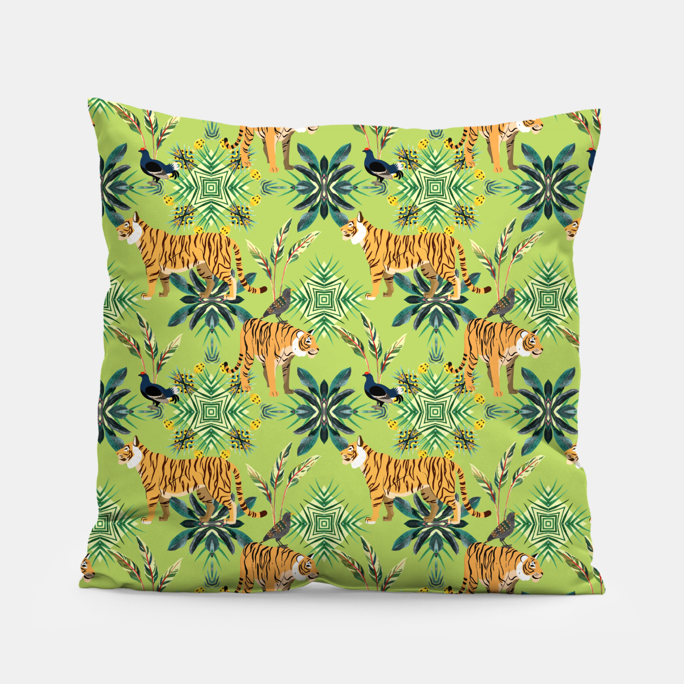 Image of Jungle Love Pillow - Live Heroes