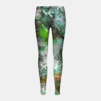 Thumbnail image of A change of mind Girl's leggings, Live Heroes