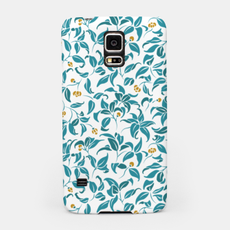 Thumbnail image of The wall of orange buds and blossoms in white Samsung Case, Live Heroes