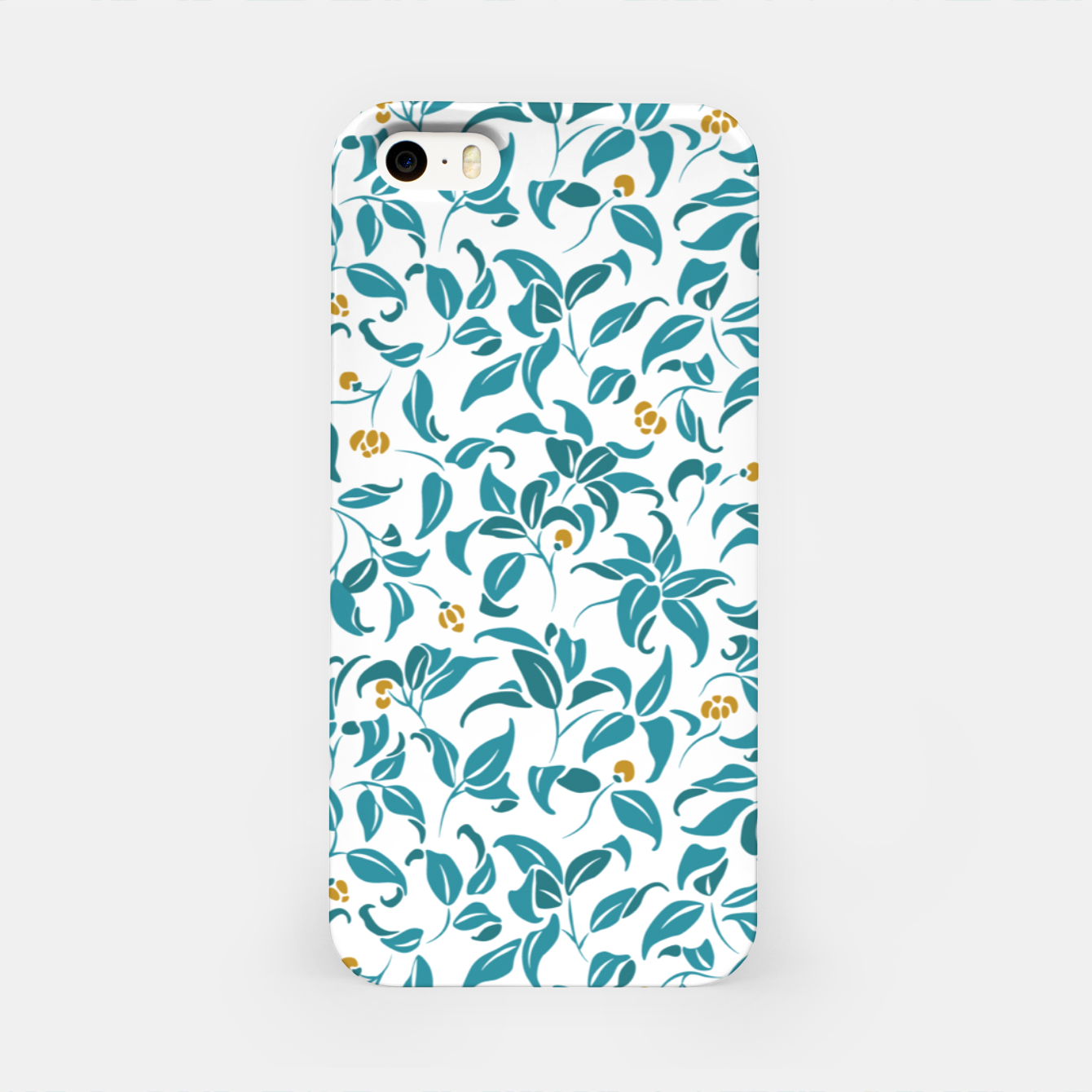 Image of The wall of orange buds and blossoms in white iPhone Case - Live Heroes