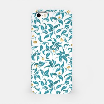 Thumbnail image of The wall of orange buds and blossoms in white iPhone Case, Live Heroes