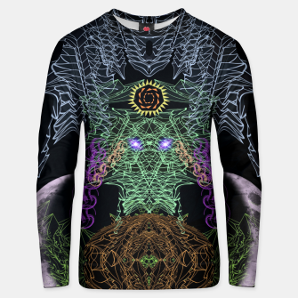 Thumbnail image of Bat, Witch and Pumpkin Unisex sweater, Live Heroes