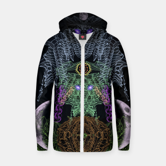 Thumbnail image of Bat, Witch and Pumpkin Zip up hoodie, Live Heroes