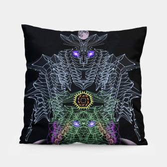 Thumbnail image of Bat, Witch and Pumpkin Pillow, Live Heroes