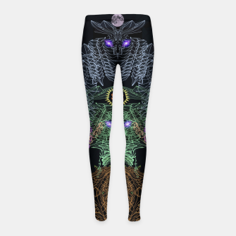 Thumbnail image of Bat, Witch and Pumpkin Girl's leggings, Live Heroes