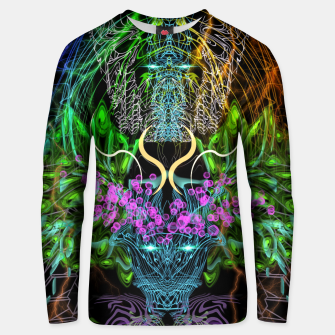 Thumbnail image of Psychedelic Rainbow, Eagle and Moose Unisex sweater, Live Heroes