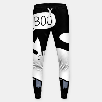 Thumbnail image of Ghost Cat Sweatpants, Live Heroes