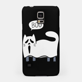 Thumbnail image of Ghost Cat Samsung Case, Live Heroes
