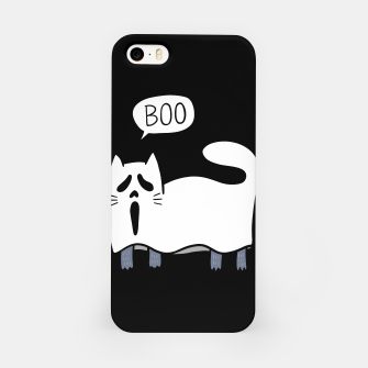 Thumbnail image of Ghost Cat iPhone Case, Live Heroes