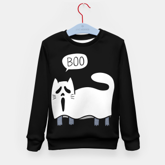 Thumbnail image of Ghost Cat Kid's sweater, Live Heroes