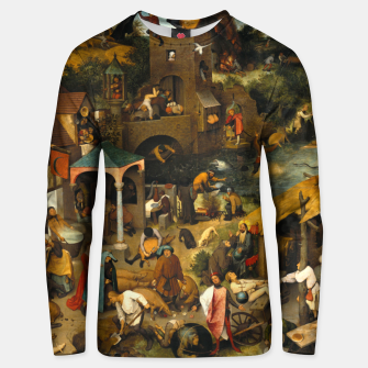 Thumbnail image of Mysterious Peasant Unisex sweater, Live Heroes