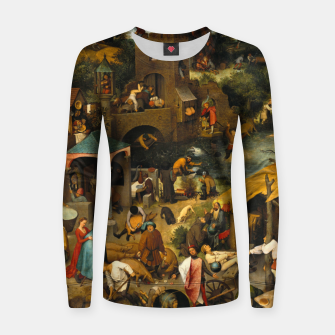 Thumbnail image of Mysterious Peasant Women sweater, Live Heroes