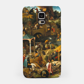 Thumbnail image of Mysterious Peasant Samsung Case, Live Heroes