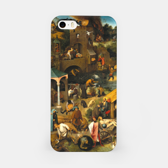Thumbnail image of Mysterious Peasant iPhone Case, Live Heroes