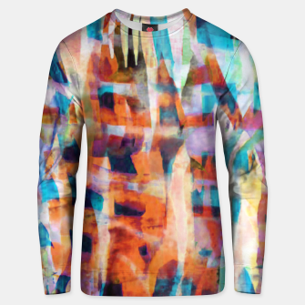 Miniatur Patchwork Painting 7 Unisex sweater, Live Heroes