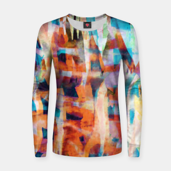 Miniatur Patchwork Painting 7 Women sweater, Live Heroes