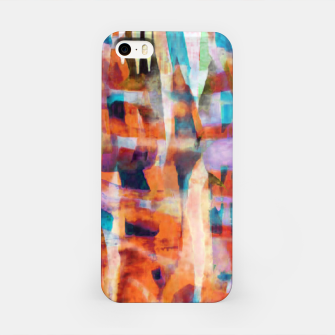 Miniatur Patchwork Painting 7 iPhone Case, Live Heroes