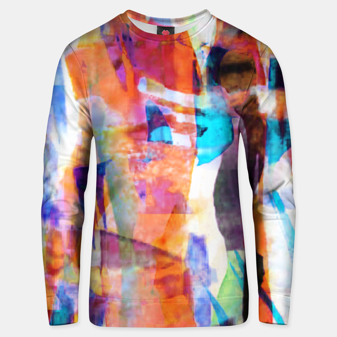 Image of Pathcework Painting 10 Unisex sweater - Live Heroes