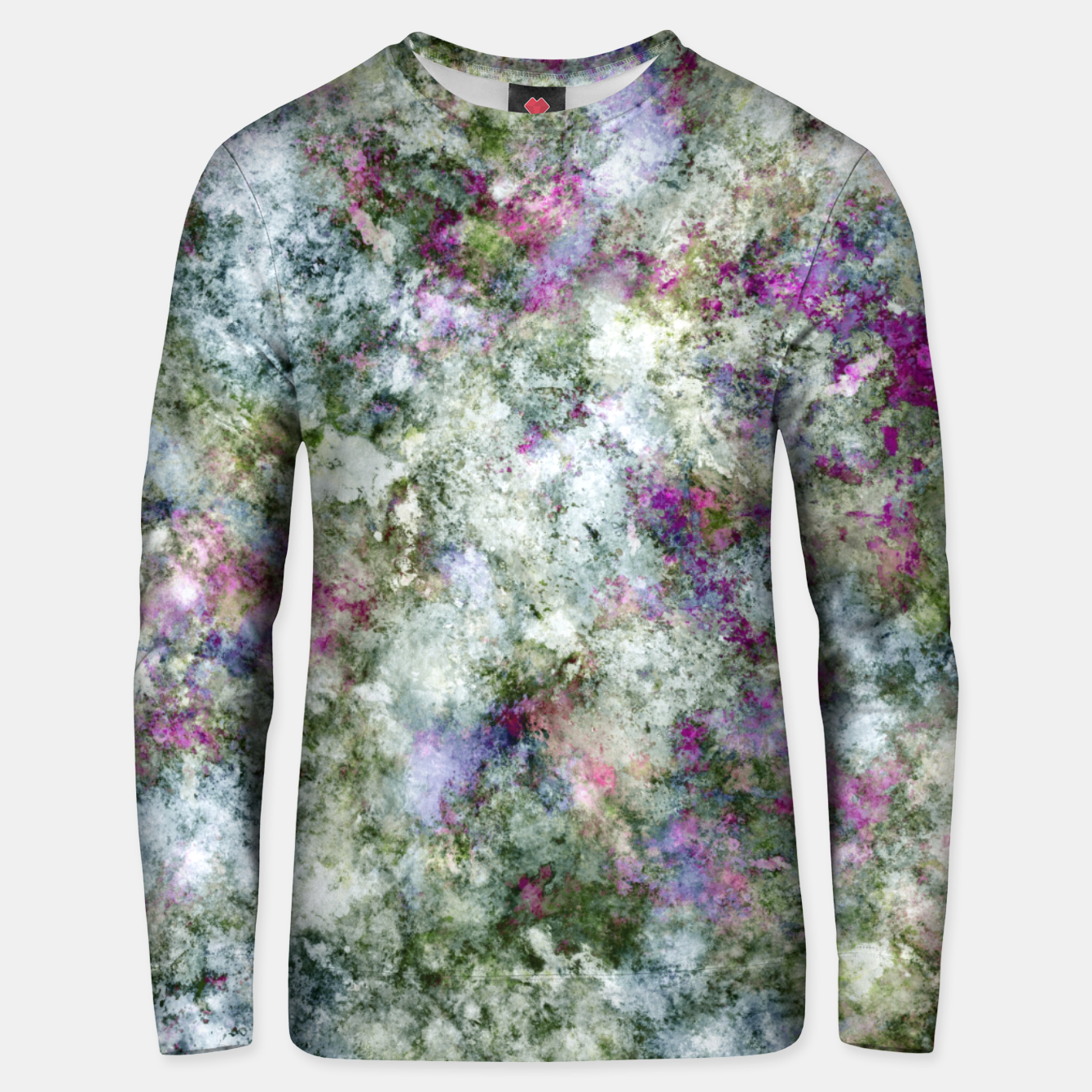 Image of Damaged wall Unisex sweater - Live Heroes