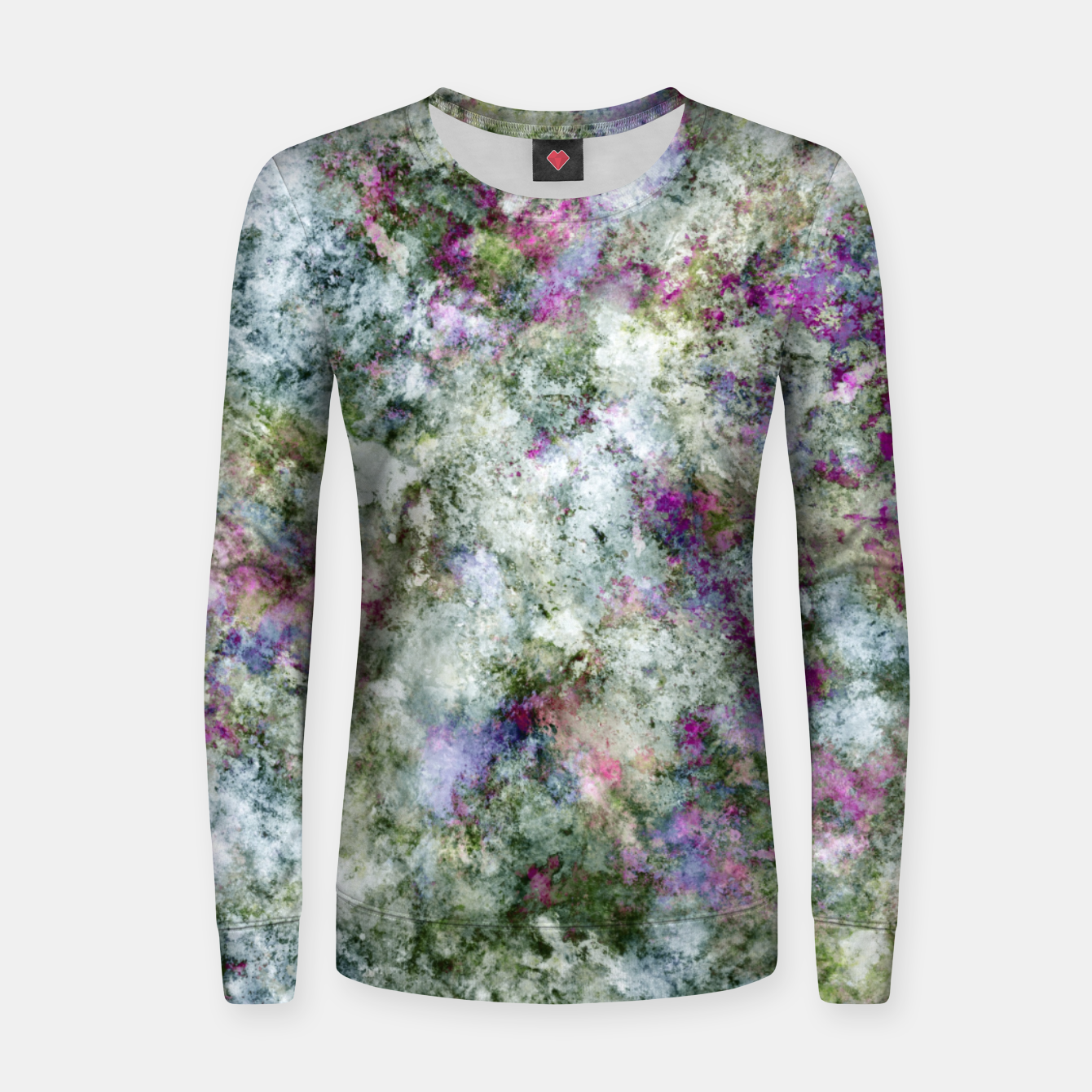 Image of Damaged wall Women sweater - Live Heroes