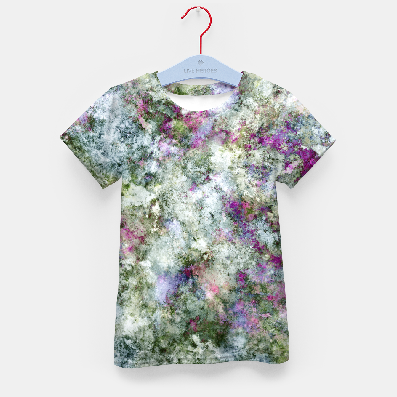 Image of Damaged wall Kid's t-shirt - Live Heroes