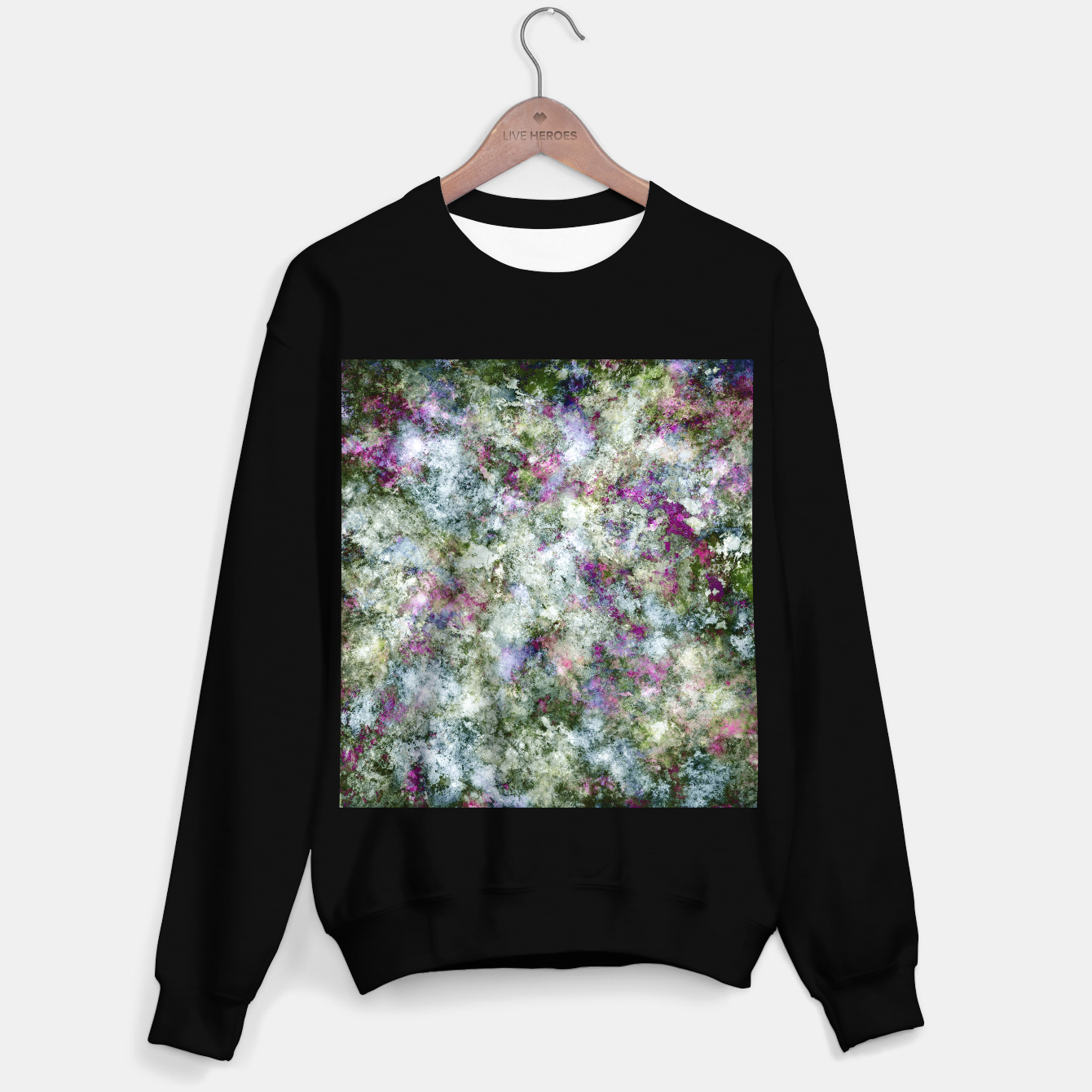 Image of Damaged wall Sweater regular - Live Heroes