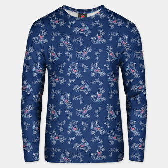 Thumbnail image of Roller Skates Unisex sweater, Live Heroes