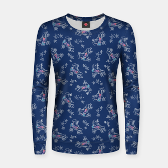 Thumbnail image of Roller Skates Women sweater, Live Heroes