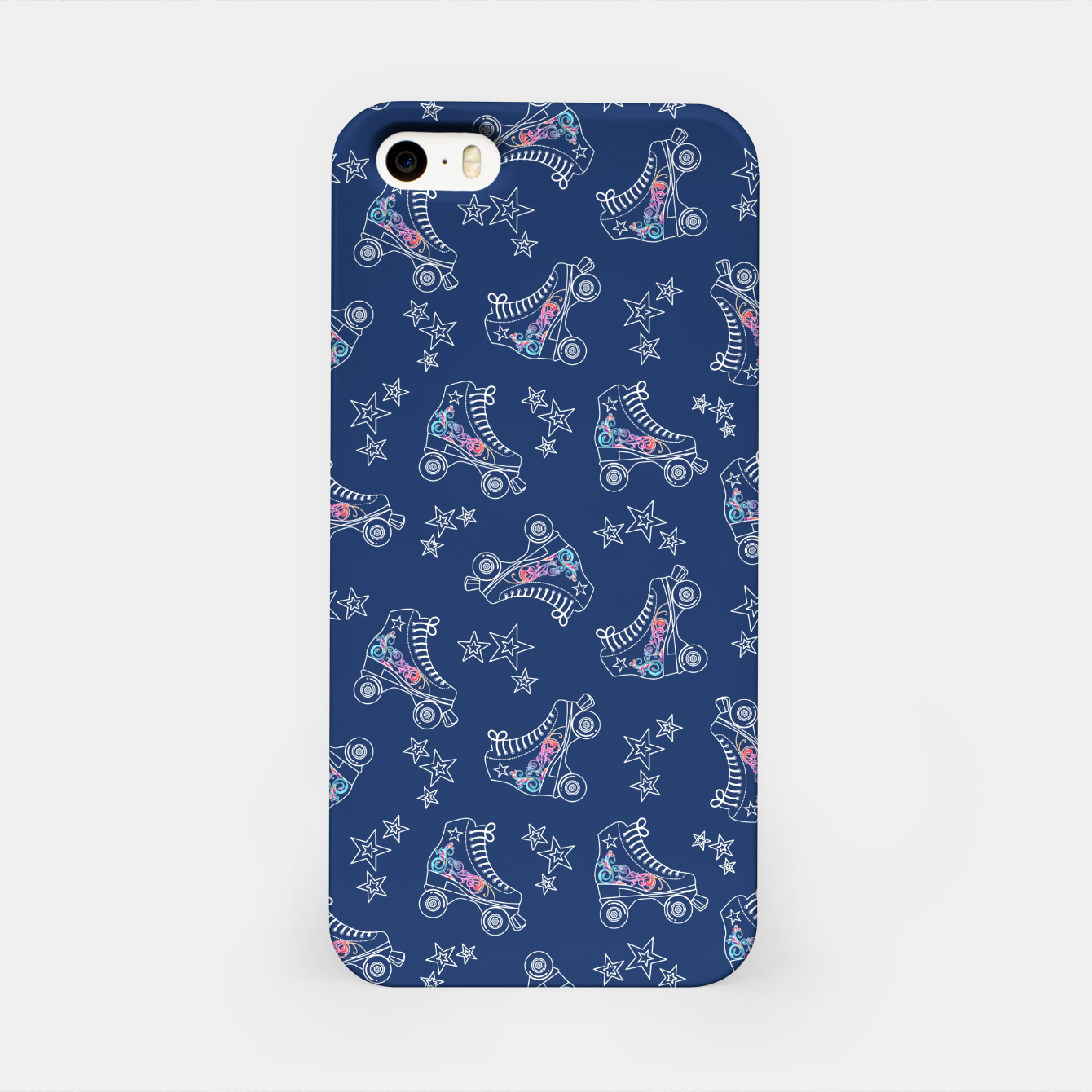 Image of Roller Skates iPhone Case - Live Heroes