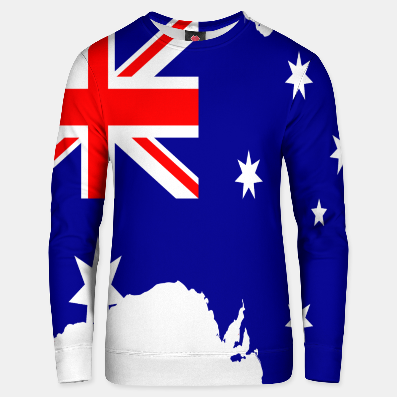 Image of Map Unisex sweater - Live Heroes