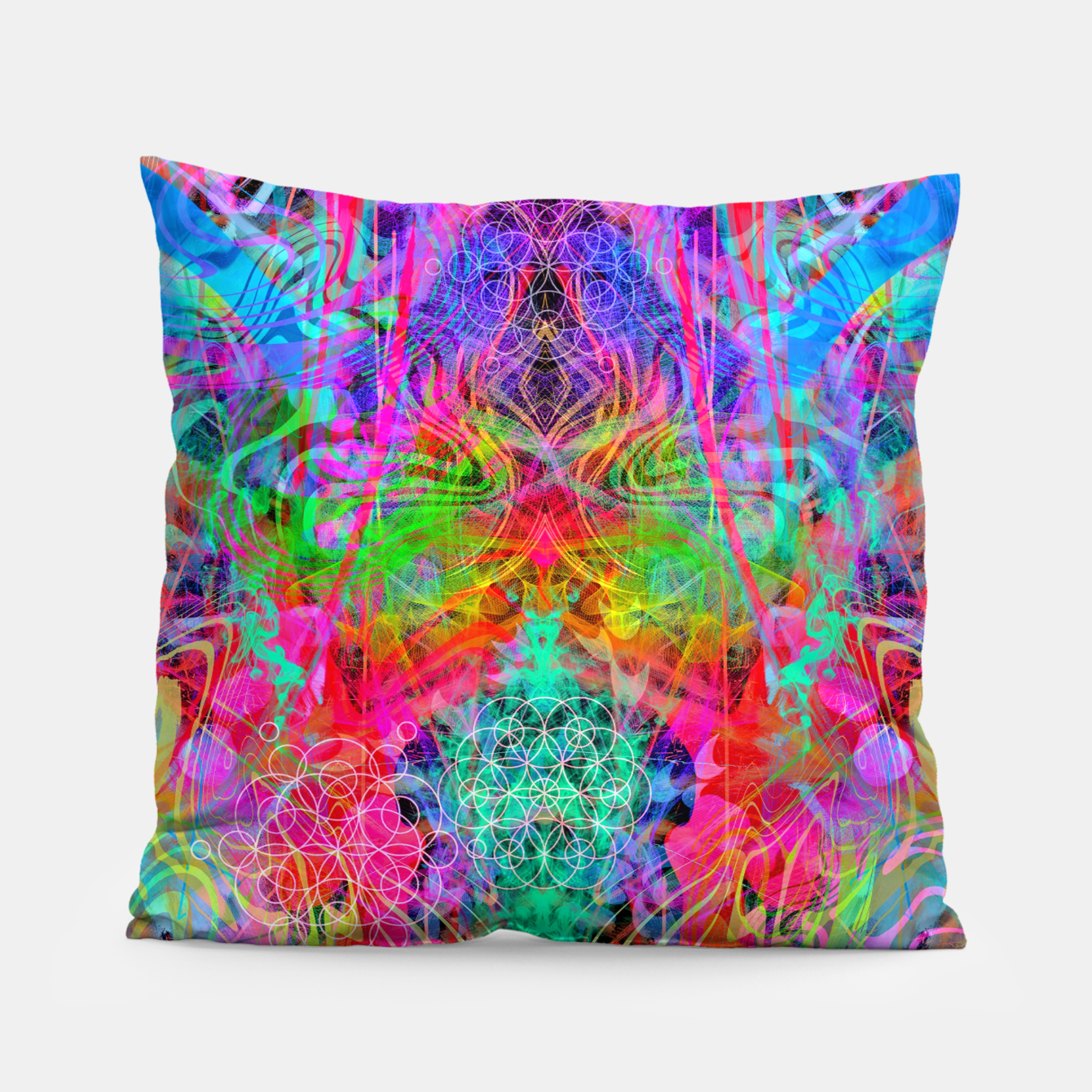 Image of Surfer's Twist Pillow - Live Heroes