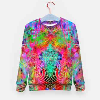Thumbnail image of Surfer's Twist Kid's sweater, Live Heroes
