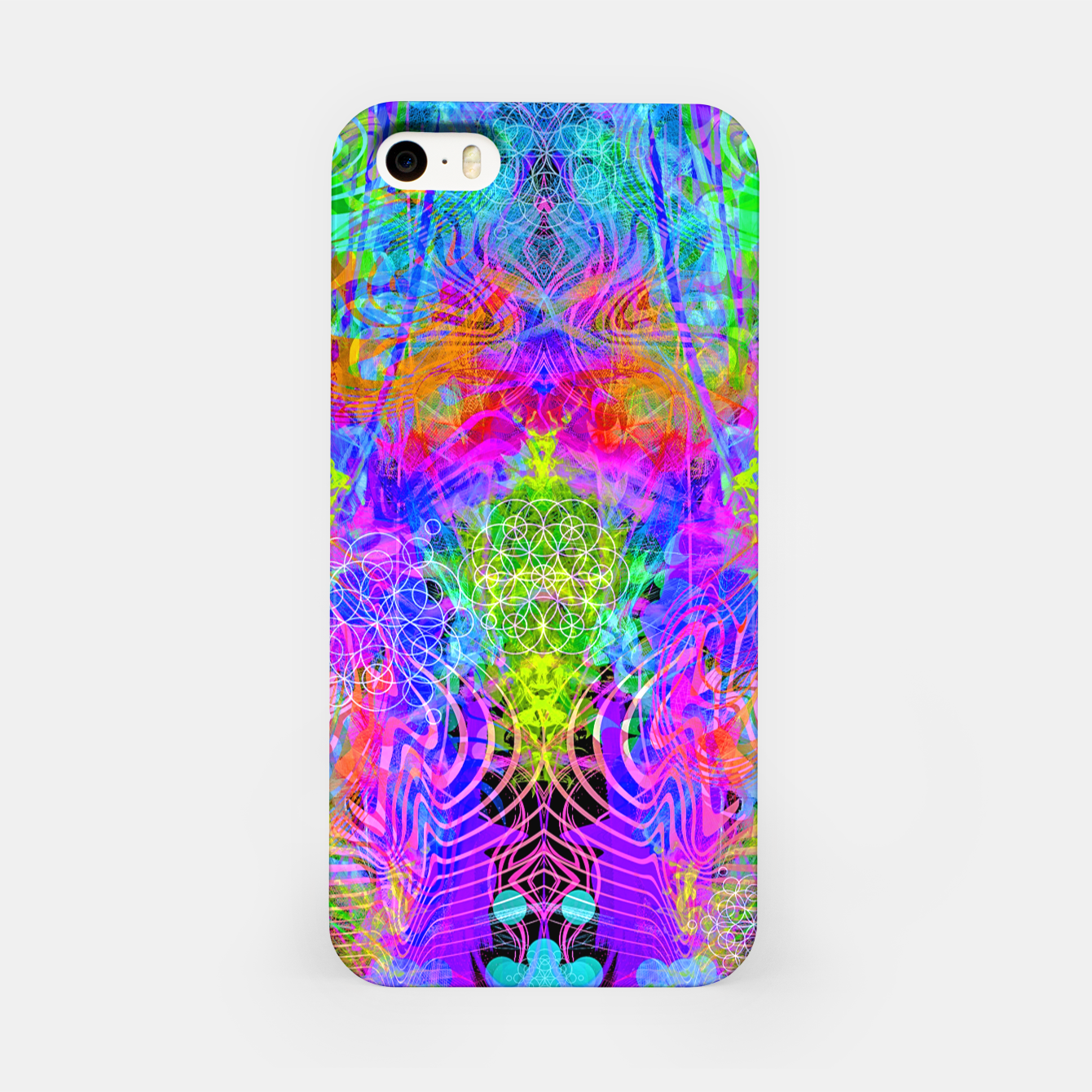 Image of Surfer's Twist (Blacklight) iPhone Case - Live Heroes