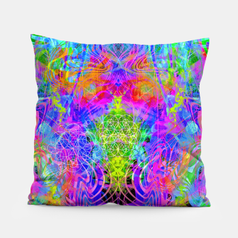 Thumbnail image of Surfer's Twist (Blacklight) Pillow, Live Heroes