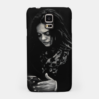 Thumbnail image of Beauty Woman Black and White Photo Illustration Samsung Case, Live Heroes