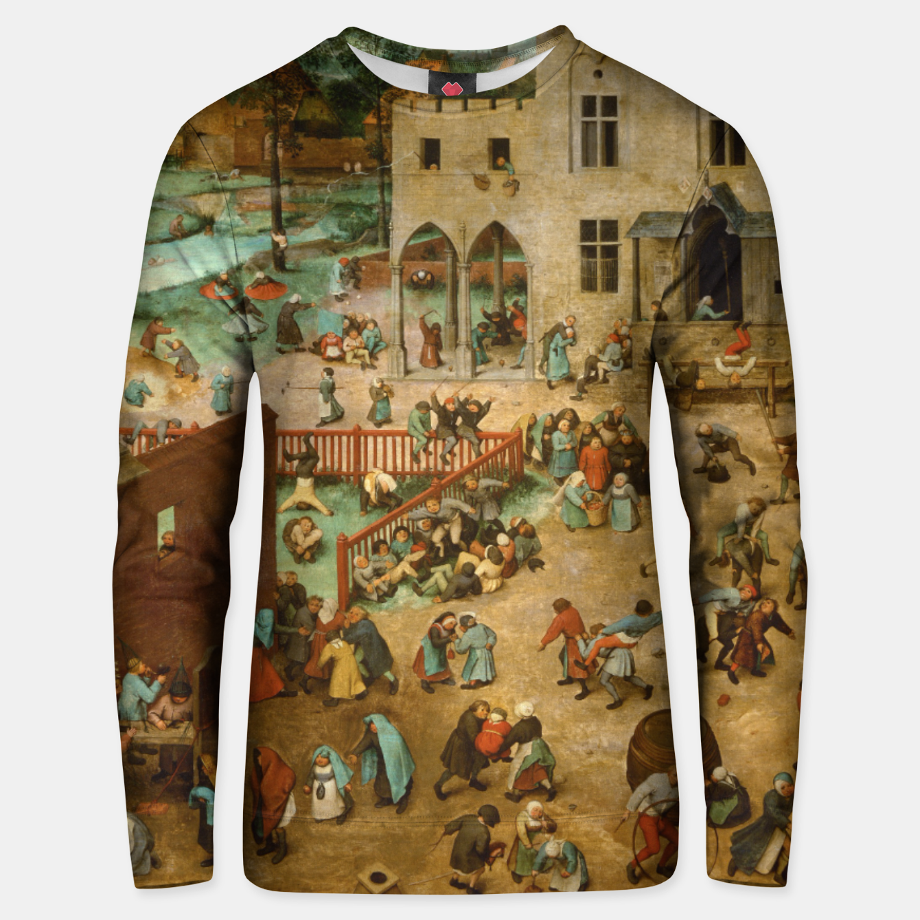 Image of Children's Games Unisex sweater - Live Heroes