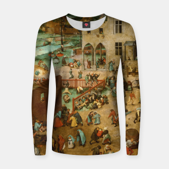 Thumbnail image of Children's Games Women sweater, Live Heroes