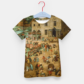 Thumbnail image of Children's Games Kid's t-shirt, Live Heroes