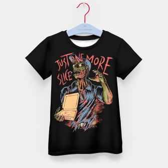 Just one more slice Kid's t-shirt thumbnail image