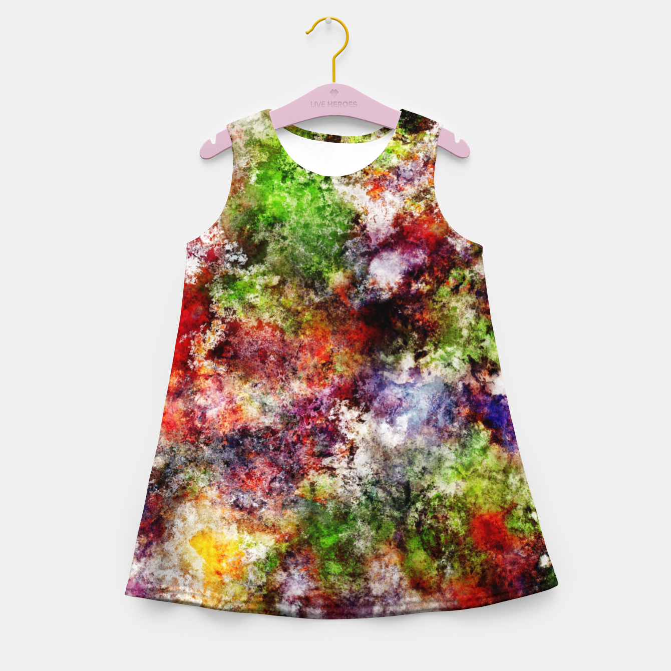 Image of Choosing a moment Girl's summer dress - Live Heroes
