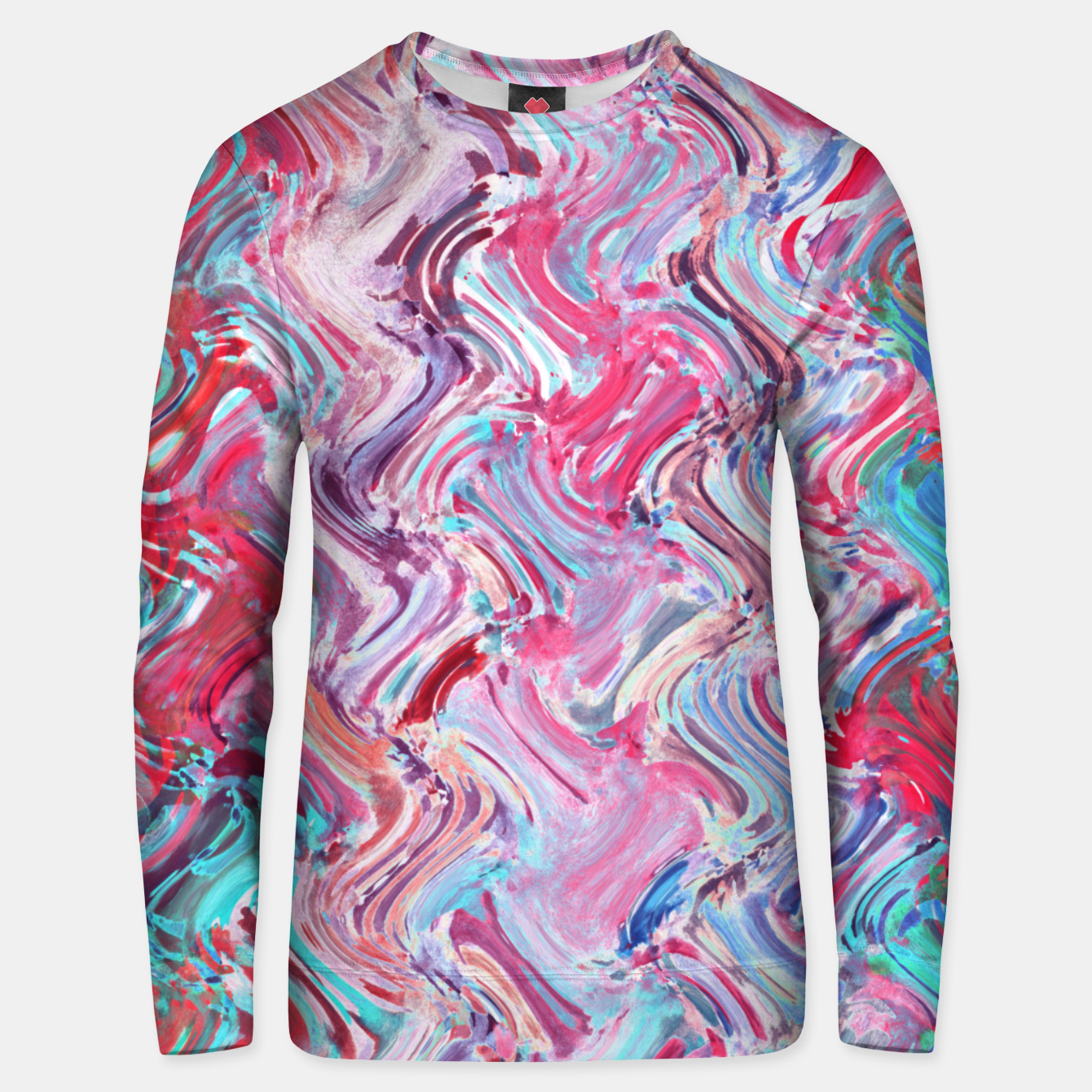 Image of Watercolor Texture 23 Unisex sweater - Live Heroes
