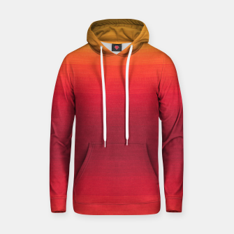 Thumbnail image of Orange Gradian Colour Fabric Texture  Hoodie, Live Heroes