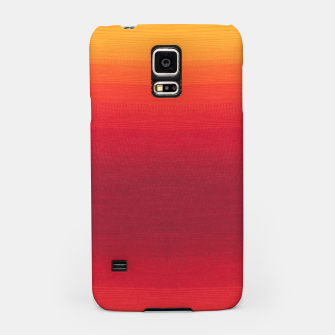 Thumbnail image of Orange Gradian Colour Fabric Texture  Samsung Case, Live Heroes
