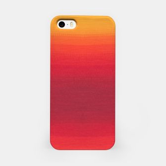 Thumbnail image of Orange Gradian Colour Fabric Texture  iPhone Case, Live Heroes