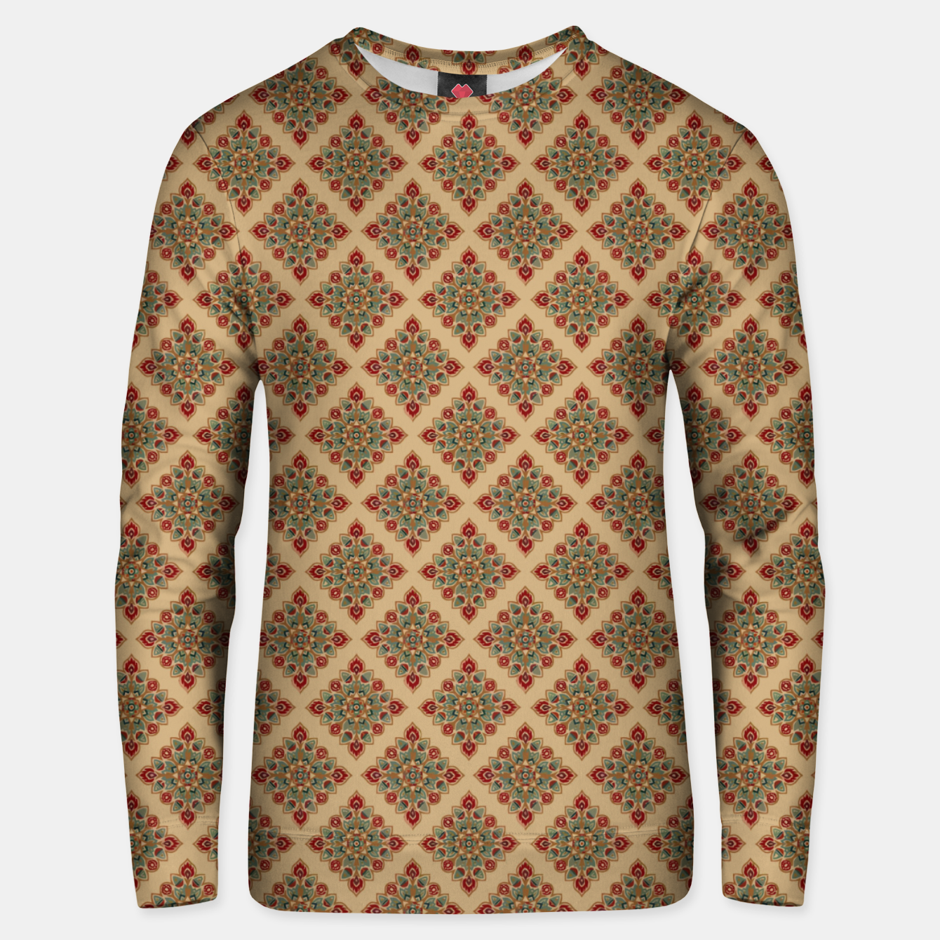 Image of Oriental Heritage Bohemian Moroccan Style  Unisex sweater - Live Heroes