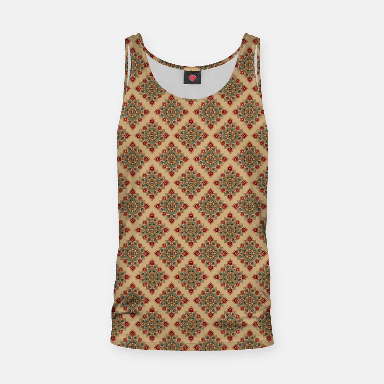 Image of Oriental Heritage Bohemian Moroccan Style  Tank Top - Live Heroes