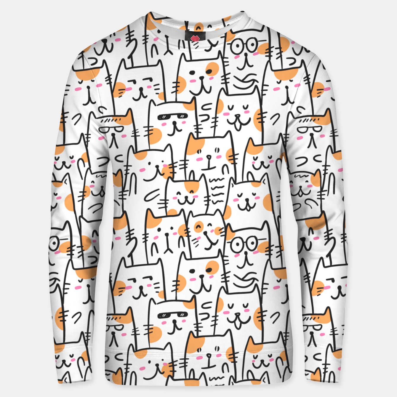 Image of Cats Unisex sweater - Live Heroes