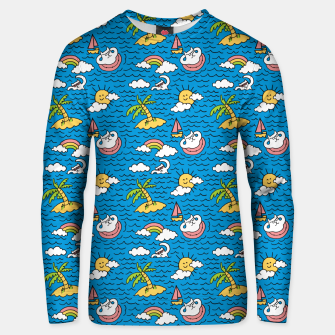 Cats on Vacation Unisex sweater thumbnail image